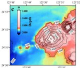 Hatoma - submarine volcano (Bathymetry)