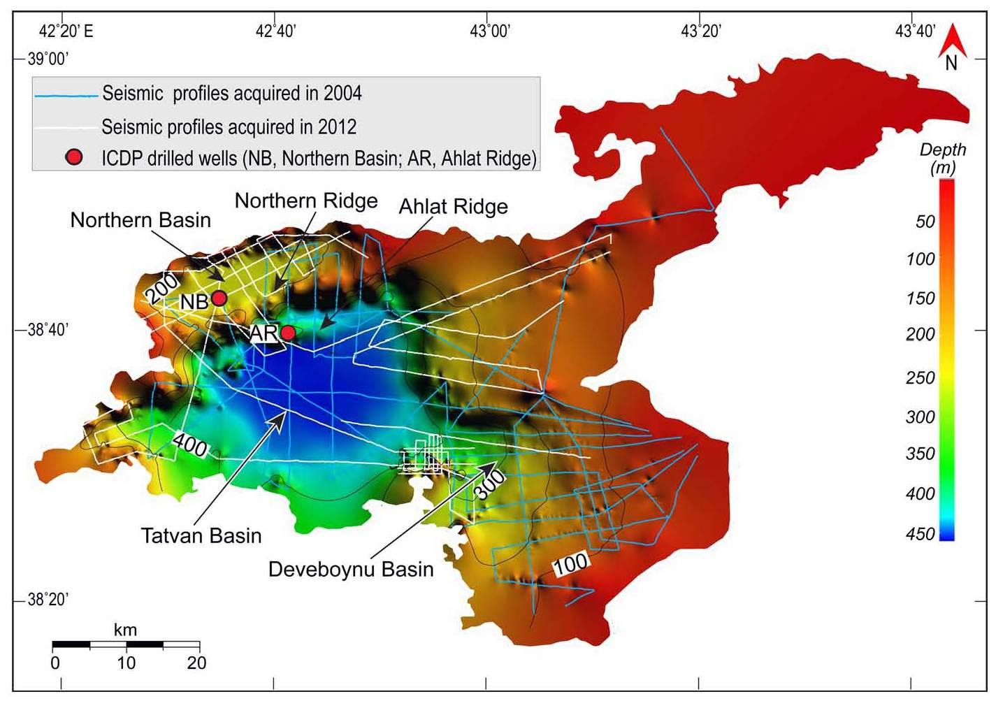 Paleovan Map